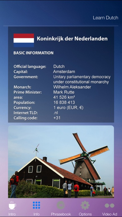 Learn DUTCH Fast and Easy - Learn to Speak Dutch Language Audio Phrasebook App for Beginners Screenshot on iOS