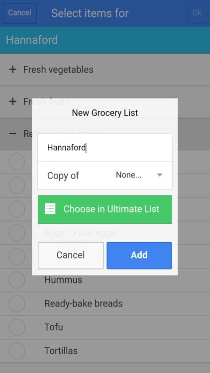 Easy Grocery List Plus screenshot-3