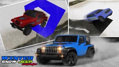 4x4 Crazy Snow Jeep Simulator 3D