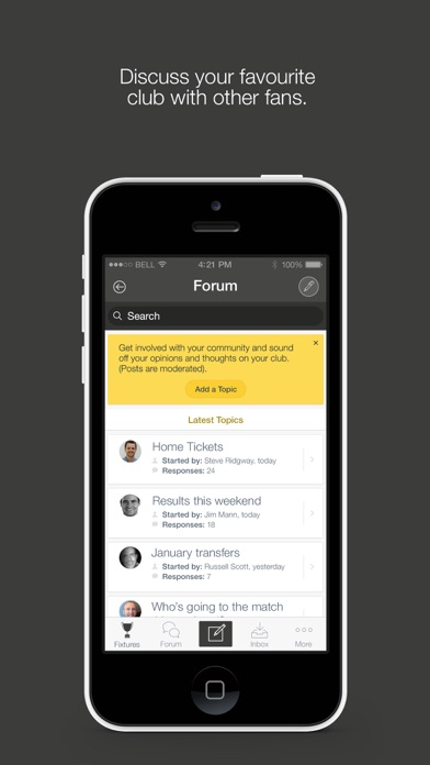 Fan App for Derby County FC screenshot three