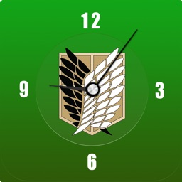 AoT Clock for Attack on Titan