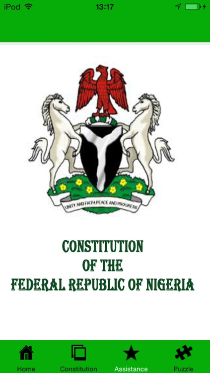 Nigerian Constitution screenshot-3