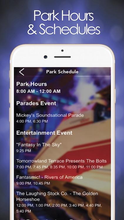 Park Planner for Disneyland screenshot-3