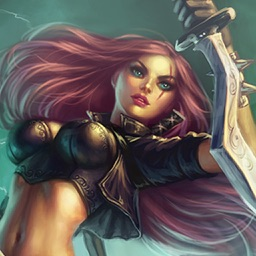 Katarina Fighter for LOL