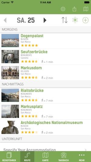 Venedig Reiseführer (Offline Stadtplan) - mTrip Screenshot