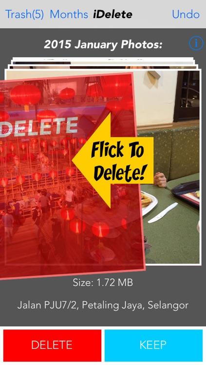 iDelete - Fastest way to delete photos