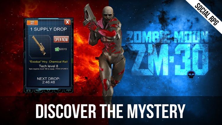 Zombie Moon – Space Marines vs Undead Zombies - Dark Future Social RPG. FREE. screenshot-3