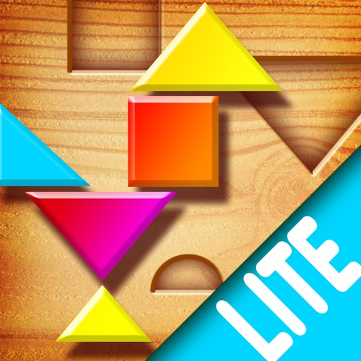 My First Tangrams HD - A Wood Tangram Puzzle Game for Kids - Lite version