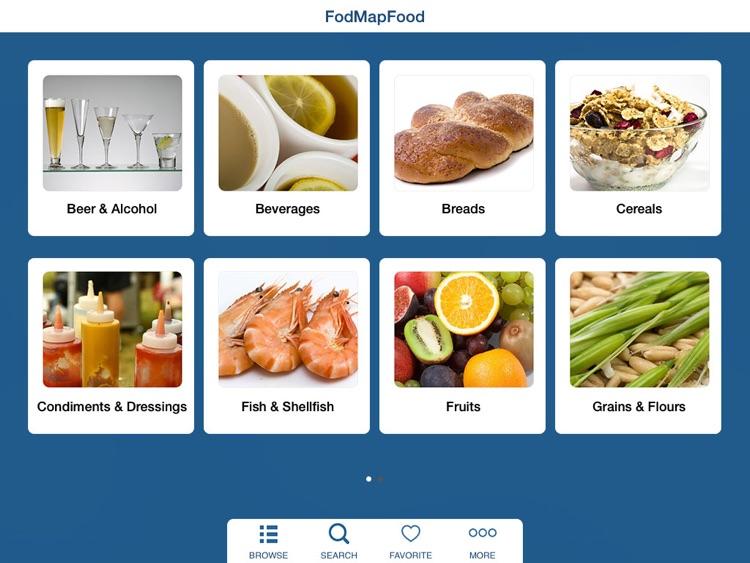 FODMAP Diet Foods Checker