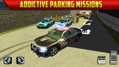 Police Car Parking Simulator Game - Real Life Emergency Driving Test Sim Racing Gamesのおすすめ画像4