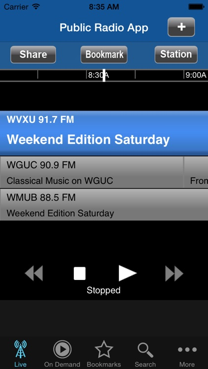 Public Radio App screenshot-1