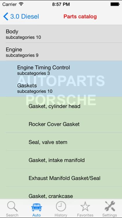 Autoparts for Porsche screenshot-3