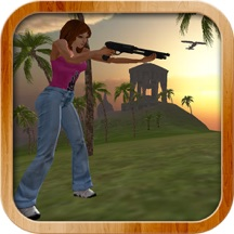 Hunter Girl Tropical Island