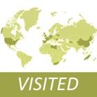 Visited Countries Map - World Travel Вход для маркировки, где вы были icon