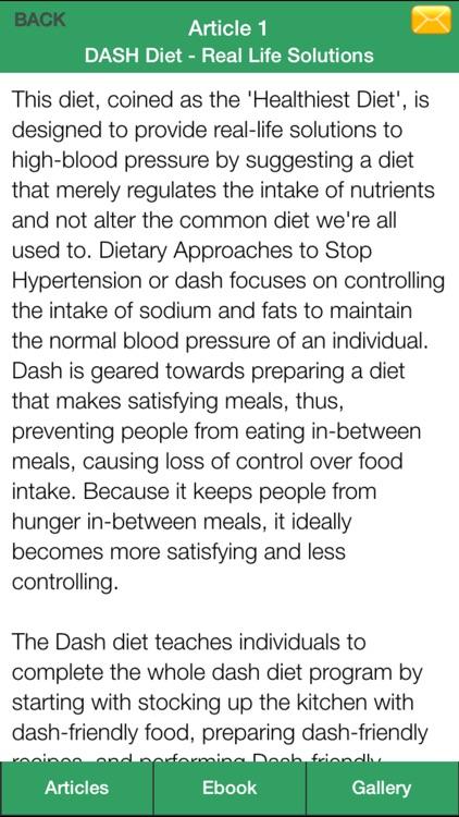 Dash Diet Plan - Lower High Blood Pressure Naturally With Dash Diet! screenshot-4