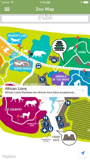 Memphis Zoo Map The Memphis Zoo on the App Store