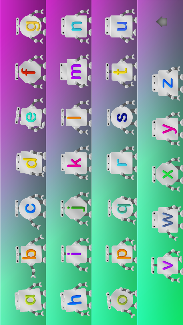 Alphabet Song from Interactive Alphabet screenshot two