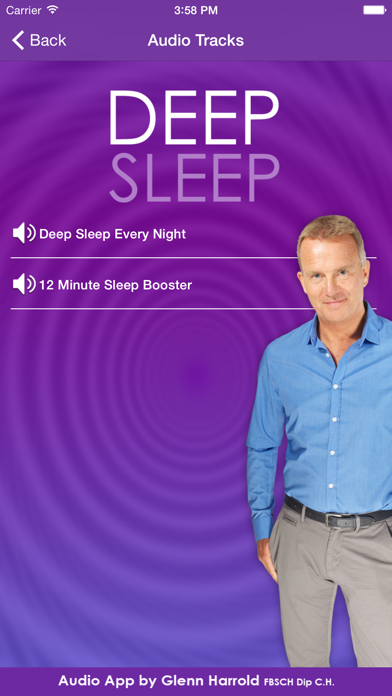 Deep Sleep By Glenn Harrold A Self Hypnosis Meditation For Relaxation review screenshots