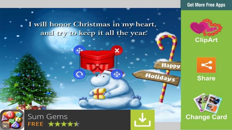 Christmas eCards & Greetings screenshot-3