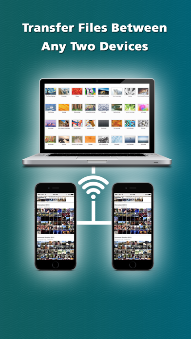 File Sharing Manager - Transfer videos & photos over WiFi