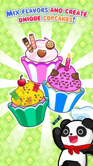 My Cupcake Maker - Spiel der Herstellung und Dekoration von KuchenScreenshot von 1