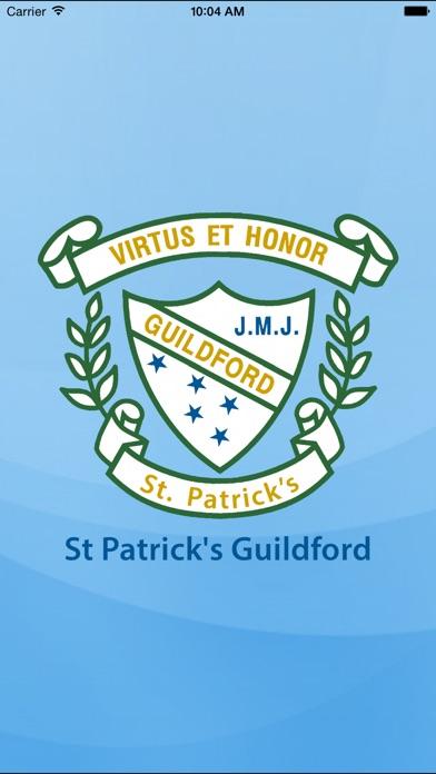 St Patrick's Guildford - Skoolbag screenshot one