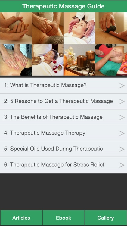 Therapeutic Massage Guide - Learn How Massage To Treat Your Illness!