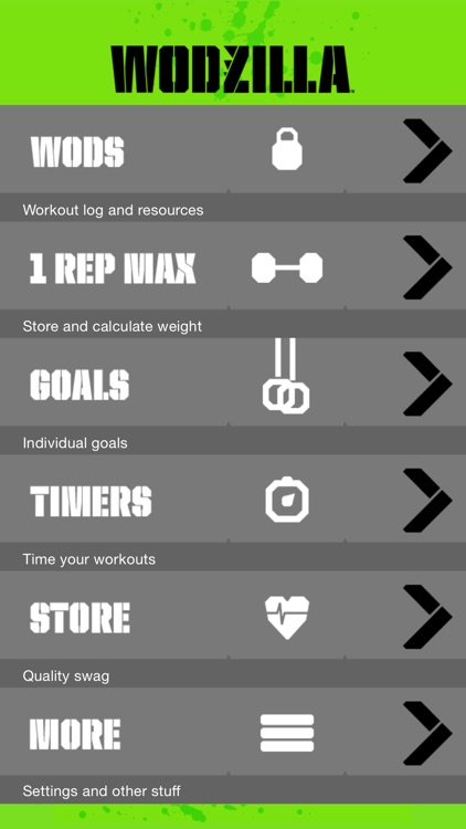WODzilla - Workout Tracker screenshot-0
