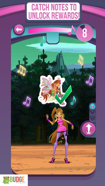 Winx Club: Rocks the World - A Fairy Dance Game by Budge Studios