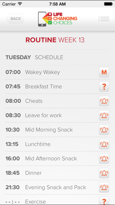 LIFE CHANGING CHOICES - ROUTINE screenshot four
