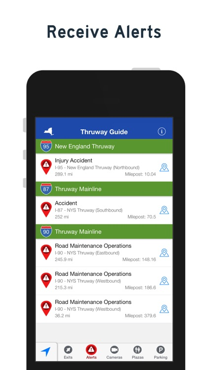 NY Thruway Guide screenshot-2