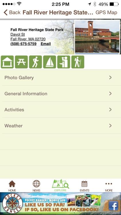 Massachusetts Parks Adventure Guide - Pocket Ranger® screenshot-4