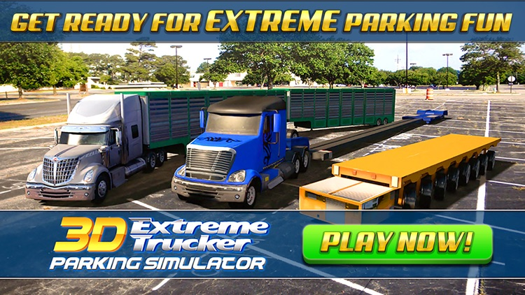 Extreme Truck Parking Simulator Game - Real Big Monster Car Driving Test Sim Racing Games screenshot-4