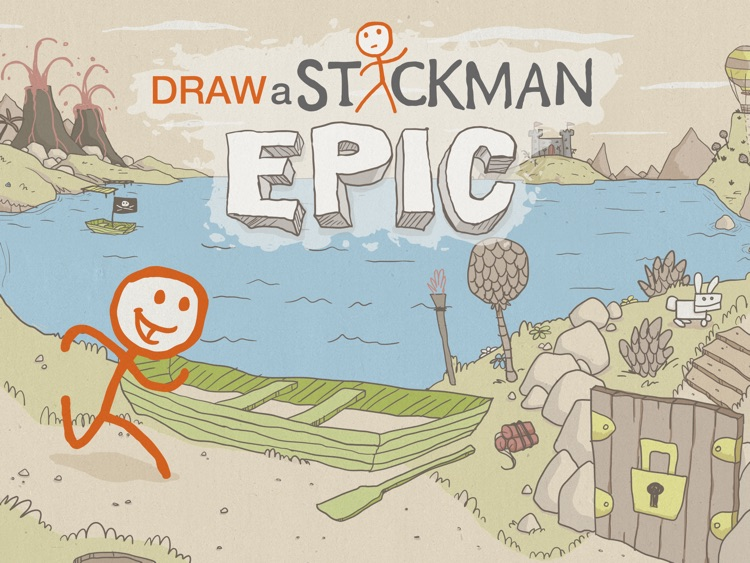 Draw a Stickman: EPIC HD Free screenshot-0