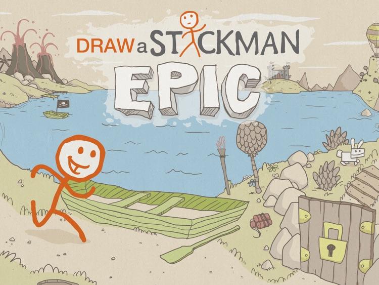 Draw a Stickman: EPIC HD Free screenshot-0