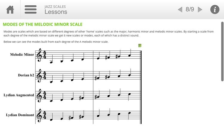 Auralia Jazz Scales screenshot-3