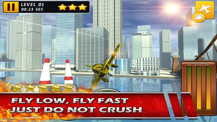 Stunt Baron Metal Wings xtreme a 3d bandit airplane pilot screenshot-1
