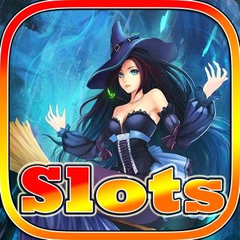 Aaaah! Pretty Witch Halloween Slots