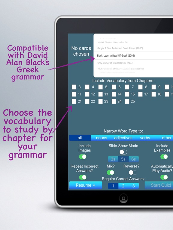 Multimedia Flashcards for Black's Learn to Read NT Greek | App Price Drops