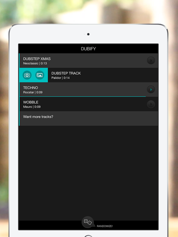 Dubify - sync your videos to dubstep screenshot