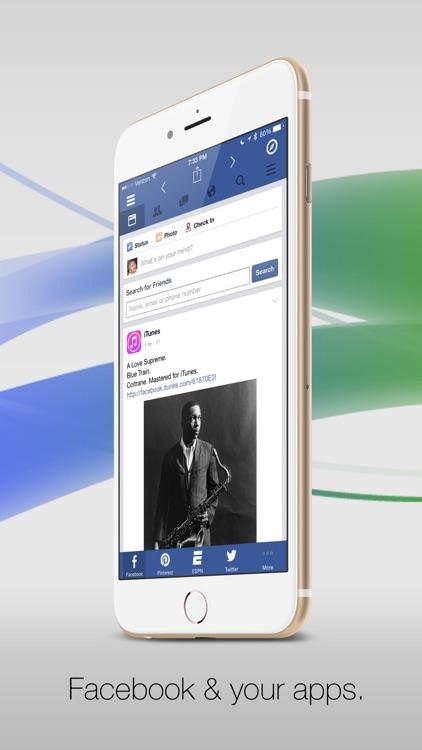 Facely HD for Facebook + Social Apps Browser