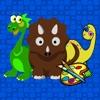 点击获取Dino Coloring Book