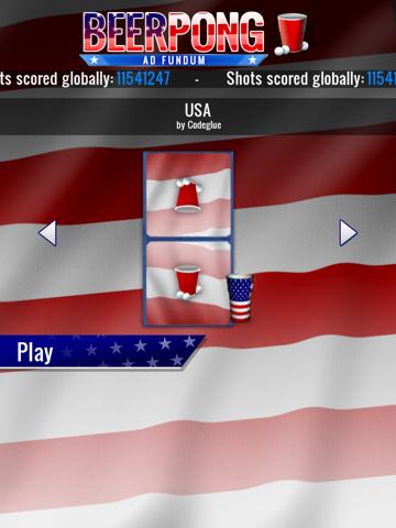 Beer Pong HD screenshot