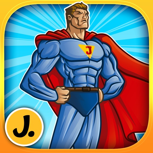 Amazing and Powerful Superheroes - puzzle game for little boys and preschool kids