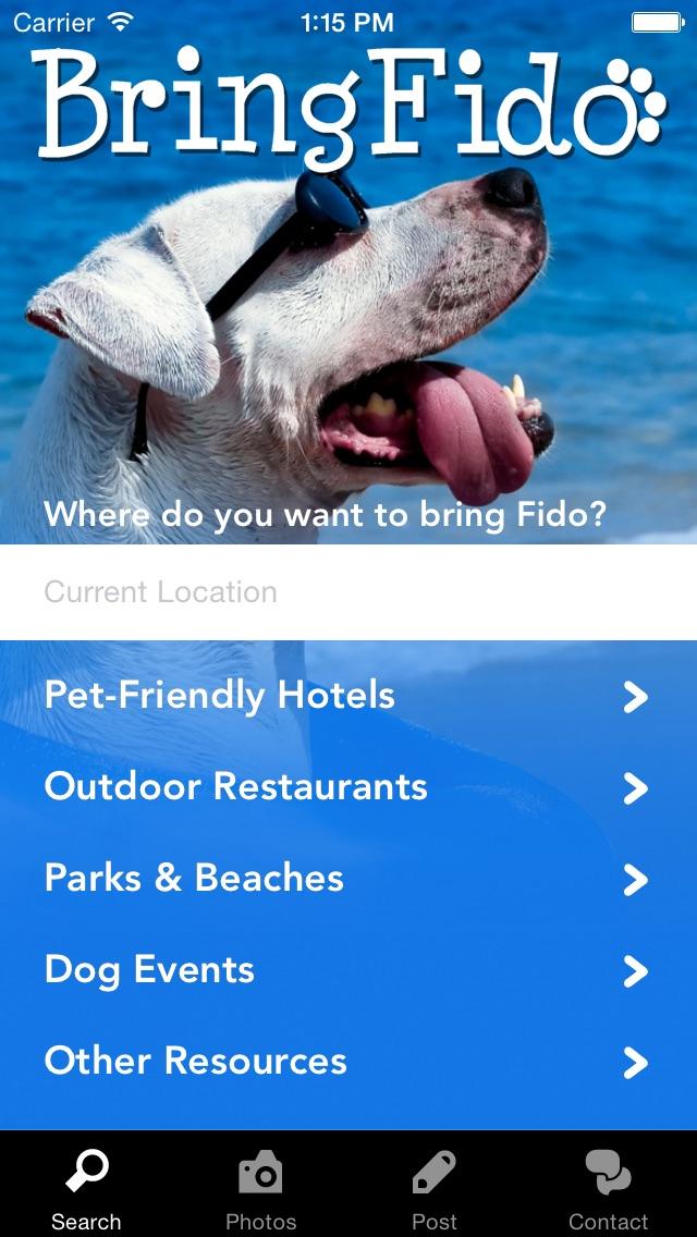 BringFido - Pet Friendly Hotels Screenshot