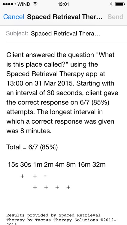 Spaced Retrieval Therapy - Memory Training for Dementia & Brain Injury screenshot-3