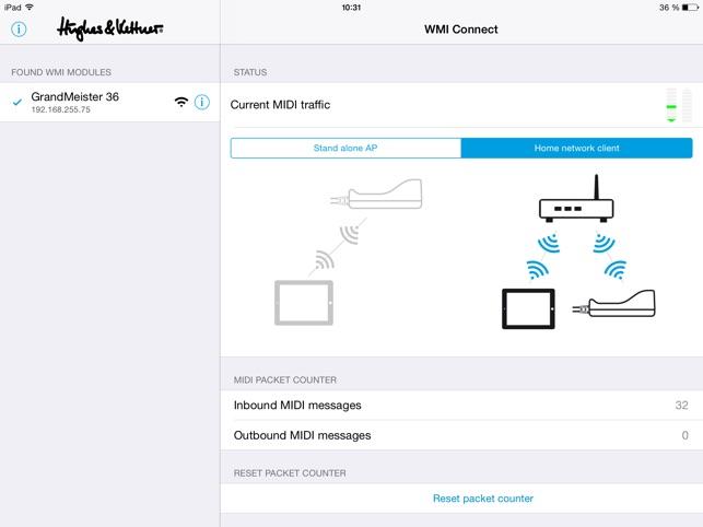 WMI Connect en App Store