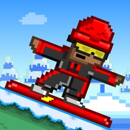 Tiny Snowboarders FREE GAME - Play 8-bit Pixel Snowboard-ing Games