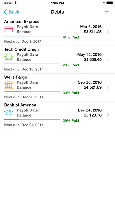 Debt Strategy Lite screenshot two