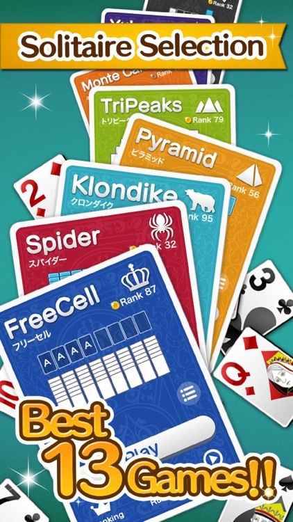 King Solitaire Selection